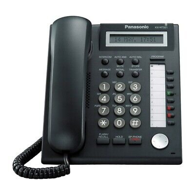 Panasonic KX-NT321 IP Phone (Black) - Refurbished
