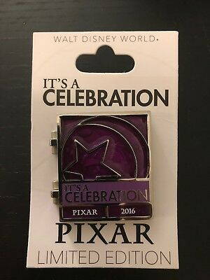 Disney Pin - Pixar Celebration 2016 - Monsters Inc. Boo Hinged LE #112660
