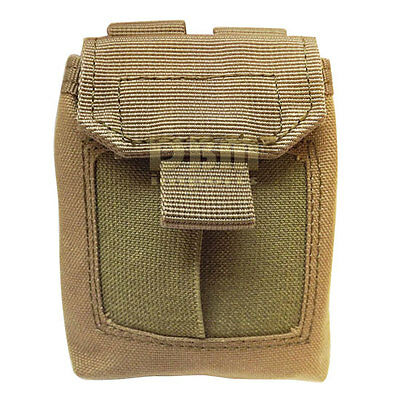 TAN Molle Tactical EMT Glove Pouch Medic First Aid Bag Holster Holder Carrier