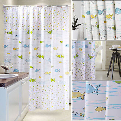 Great Fabric Shower Curtain Extra Wide And Long 240 X 200/200 X 200/200X180CM