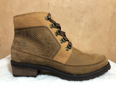 0177afe28 THE NORTH FACE Bridgeton Lace MM Women US 8 Brown Winter Boot ...