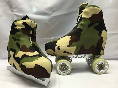 Army Boot Covers for Roller Skates/Ice Skates SMALL  ONLY