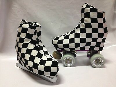 Check Boot Covers for Roller Skates/Ice Skates SMALL  ONLY
