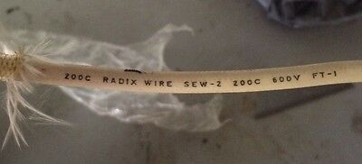 Price Per 2 Feet of #10 SEW-2 High Temp Appliance Wire