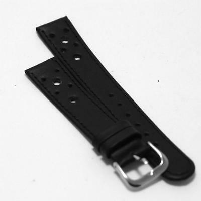 Watch Vintage Buckle Genuine Leather Strap Retro Wrist Thick Clasp Classic New