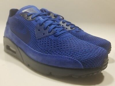 0d93057ae518f NIKE AIR MAX 90 Ultra 2.0 Flyknit 875943-402 Mens Size 11 Racer Blue ...