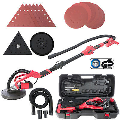 Arebos Ponceuse à bras Ponceuse girafe 750 W 225 mm double pad GS