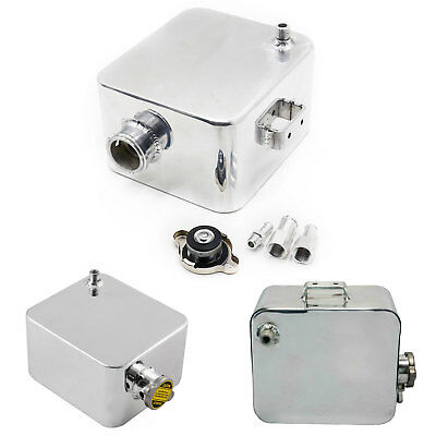 2.5 Coolant Water Expansion Tank Bottle Header Aluminium Alloy Universal Kit Car