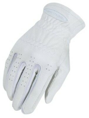 (6, White) - Heritage Pro-Fit Show Glove. Heritage Products. Huge Saving