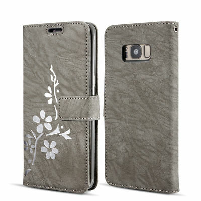 Coque Housse Cuir Portefeuille Stand Etui Pour Samsung S7 S8 S9 iPhone 6 7 8 +