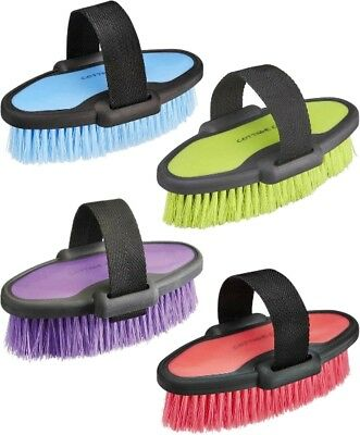 Cottage Craft Grooming Body Brush Dm Small Removes Dust And Shines Horses Coat