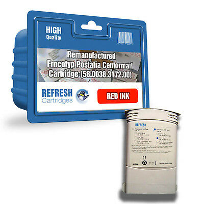 Refresh Cartridges Red 58.0038.3172.00 Ink Compatible With Francotyp Postalia Pr