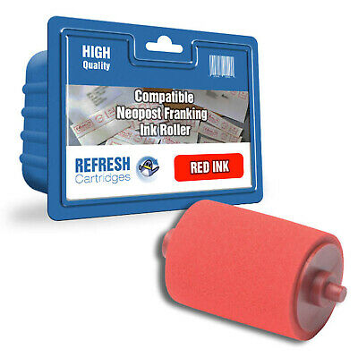 Refresh Cartridges Red 300400 Ink Compatible With Neopost Printers