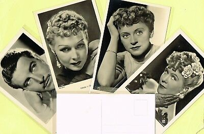 ROSS VERLAG - 1940s Film Star Postcards produced in Germany #A2681 to #A2793