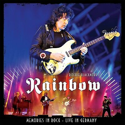 Ritchie's Rainbow Blackmore - Memories In Rock-Live 2 Cd Neu
