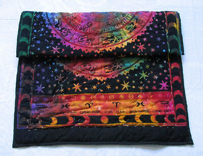 New Baby Quilt Zodiac Multicolor Astrology Throw Coverlet With 100%Cotton Filled