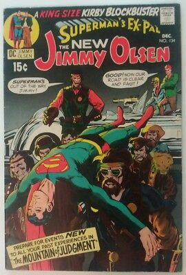 Jimmy Olsen #134 1st Appearance of Darkseid KEY Superman's Pal 1970 Neal Adams
