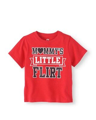 Mommy's Little Flirt Boys Graphic T-Shirt 3T Graphic Tee