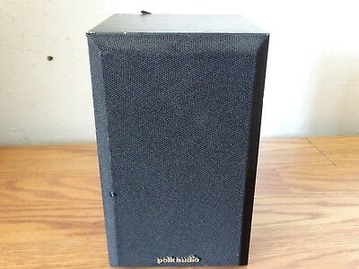 Pair Of Polk Audio Bookshelf Speakers