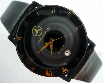 Mercedes Benz Classic Art Deco Car Accessory Basic Design Made in Germany Watch