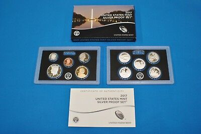 2017 United States Mint Silver Proof Set - 10 Piece