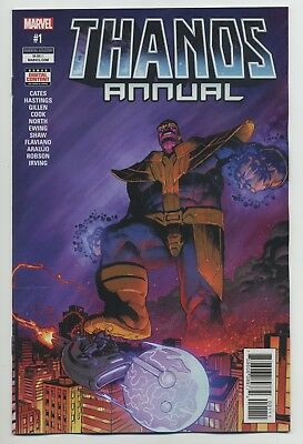 THANOS ANNUAL #1 2018 MARVEL comics NM Cates Cook Ewing Gillen Hastings North