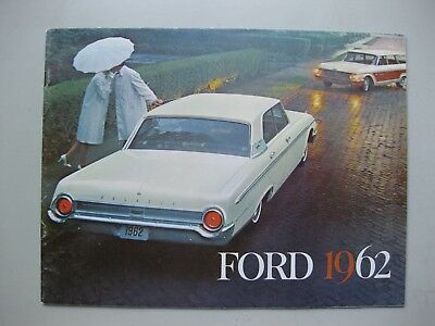 Ford Galaxie Country Squire prestige brochure Dutch text 24 pages 1962