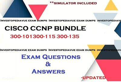 CCNP 300-101 300-115 300-135 Exam questions and Simulator