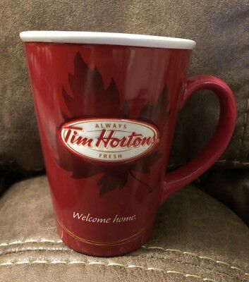 Tim Horton's #11 Welcome Home Bilingual Ltd Coffee Mug Cup 2011