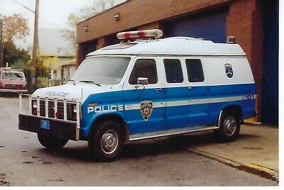 New York City Police Dept Emergency Service Unit 3181 Ford 4X6 Color Photo