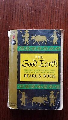 The Good Earth Pearl S. Buck A Cardinal Edition Vintage 1958  Paperback