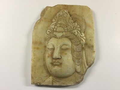Antique Carved Stone Chinese Figure