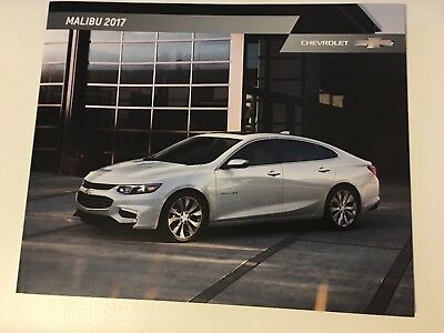 2017 CHEVY MALIBU 32-page Original Sales Brochure