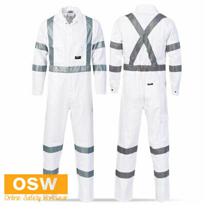 Unisex Road Traffic Authority Reflective Rta Night Workers Safety Coveralls