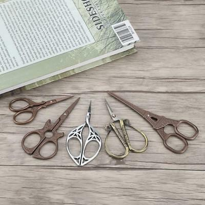 Vintage Sewing Scissors Tailor Dressmaking Cross Stitch Embroidery Craft Cutter