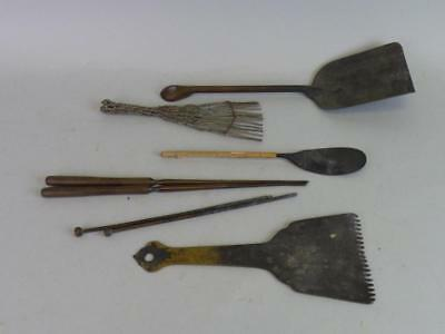 Group of Japanese Hibachi or Tea Ceremony Utensils Lot 671