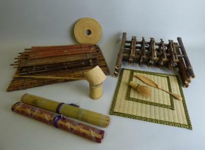 Group of Japanese Tea Ceremony Articles Lot 163