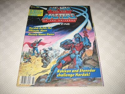 Masters Of The Universe Us Magazine - Issue #5 Winter 1986 Complete 2 Posters