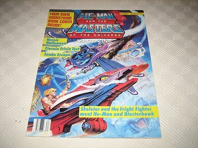 Masters Of The Universe Us Magazine - Issue #8 Fall 1986 Complete Book Cover