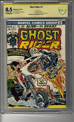 Ghost Rider # 3 - CBCS OW/White Pages - SS Roy Thomas - Mephisto & Witch Woman