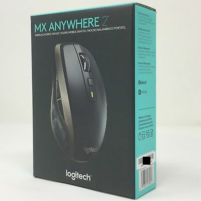Moderne Logitech MX Anywhere 2 Wireless Mobile Mouse, New in Retail Box NI-12