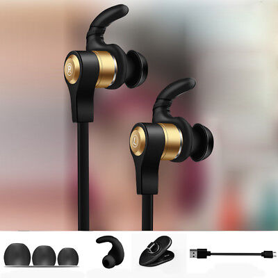 Bluetooth Headphones Wireless Sports Earphones In Ear Earbuds for Gym Running