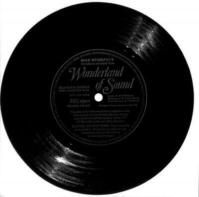 """Max Bygraves - Introduces Excerpts From Wonderland Of Sound - Flexi-Disc - 7"""""""