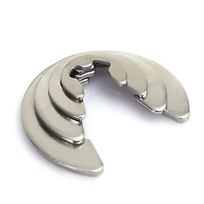 Retaining Ring,Exter-E,Snap Ring E Style,E-Clips 304 Stainless Steel Φ1.2mm-15mm