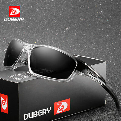 DUBERY Mens Sport Polarized Sunglasses Outdoor Riding Fishing Goggles Glasses XJ