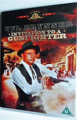 Invitation to a gunfighter 1964 yul brynner janice rule george segal invitation to a gunfighter 1964 yul brynner janice rule dvd new stopboris Image collections