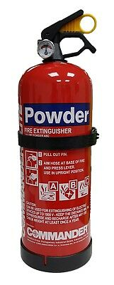 2kg ABC Dry Powder Fire Extinguisher - perfect for car/home/office - best value!