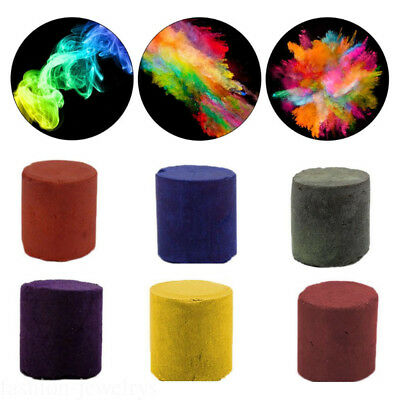 Color Smoke Cake Show Prop Smoke Effect Round Stage Photography Party Toy Gadget