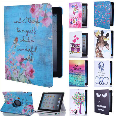 For Samsung Galaxy Tab A A6 10.1 T580 T585 Rotating Case Stand Cover Auto Sleep