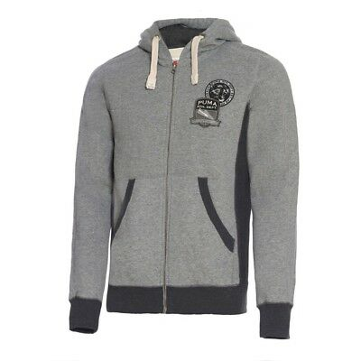 Felpa uomo Varsity Zip Through Puma